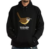 Birdorable Carolina Wren Hoodie (dark)
