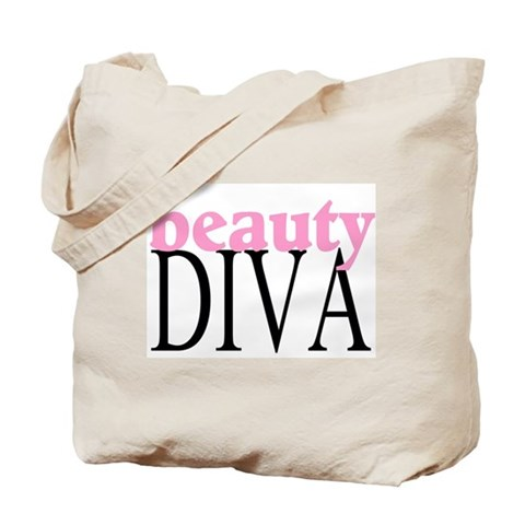 Beauty Diva Tote Bag  :  beauty bag carry bag accessories