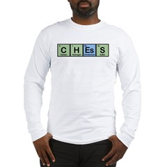 Chess made of Elements Long Sleeve T-Shirt