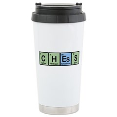 Chess made of Elements Ceramic Travel Mug