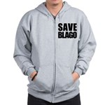 Save Illinois Governor Blagojevich, he's innocent! Zip Hoodie