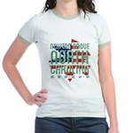 Greetings from Manasquan Organic Kids T-Shirt (dar