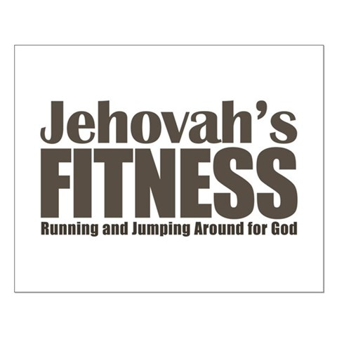 Jehovah's Fitness Small Poster