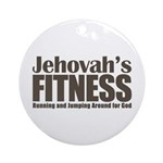 Jehovah's Fitness Ornament (Round)