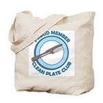 Clean Plate Club Member Tote Bag