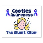 Cooties Awareness Small Poster
