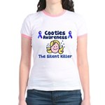 Cooties Awareness Jr. Ringer T-Shirt