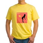 iFart Funny Spoof Yellow T-Shirt