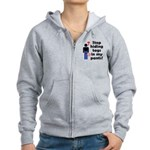 Stop Hiding Tags In My Pants! Women's Zip Hoodie