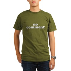 No Comment Organic Men's T-Shirt (dark)