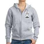 We're Here We're Sheared Get Used To It! Women's Zip Hoodie
