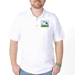 Spring Sheep Golf Shirt