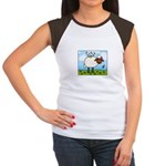 Spring Sheep Women's Cap Sleeve T-Shirt