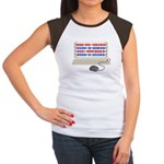 QWERTY B.C. Women's Cap Sleeve T-Shirt