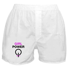 Girl Power Symbol Boxer Shorts