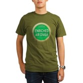 Certified Nitrox Diver Organic Men's T-Shirt (dark