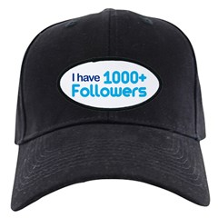I Have 1000+ Followers Black Cap