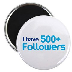 I Have 500+ Followers Magnet