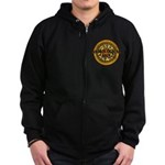 Astrological Sign Zip Hoodie (dark)