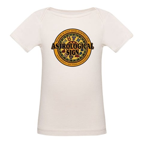 Astrological Sign Organic Baby T-Shirt