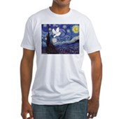 Starry Dove Fitted T-Shirt