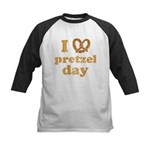I Pretzel Pretzel Day Kids Baseball Jersey