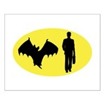 Bat Man Small Poster