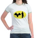 Bat Man Jr. Ringer T-Shirt
