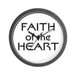 Faith of the Heart Wall Clock