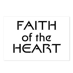 Faith of the Heart Postcards (Package of 8)