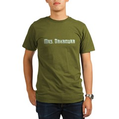 Mrs. Nakamura Organic Men's T-Shirt (dark)