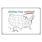 States I've Been To Banner