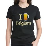 I Love Belgium (Beer) Women's Dark T-Shirt