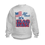 Flag Day Kids Sweatshirt