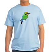 Rainbow Bee-eater Light T-Shirt