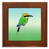Rainbow Bee-eater Framed Tile