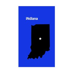 iNdiana Sticker (Rectangle)
