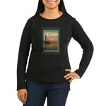 Visit Beautiful Alaska Women's Long Sleeve Dark T-Shirt