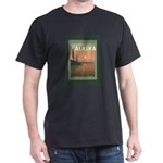 Visit Beautiful Alaska Dark T-Shirt