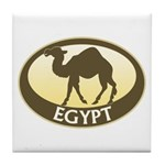 Egyptian Camel Tile Coaster