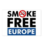 Smoke Free Europe Postcards (Package of 8)