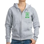 50% Irish - Thank You Mom Women's Zip Hoodie