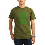 50% Irish - Thank You Mom Organic Men's T-Shirt (dark)