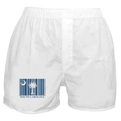 Barcode South Carolina Flag Boxer Shorts