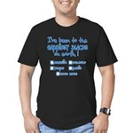 Happiest Places on Earth Men's Fitted T-Shirt (dark)