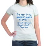 Happiest Places on Earth Jr. Ringer T-Shirt
