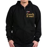 Czech It Out Zip Hoodie (dark)