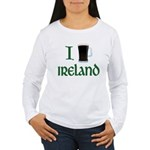 I Love Ireland (beer) Women's Long Sleeve T-Shirt
