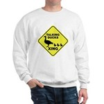 Talking Ducks Crossing Sweatshirt