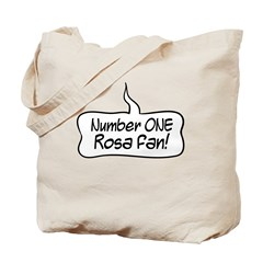 Number One Rosa Fan Tote Bag